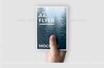 1807176 A6 Flyer Mockups 21350583 4