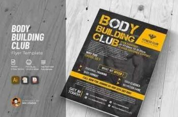 1807188 Body Building Club Flyer 2636793 3