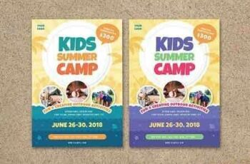 1807192 Kids Summer Camp Flyer 2606904