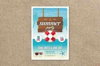 1807193 Summer Party Flyer 2606853 2