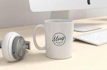 1807201 Coffee Mug Mockup on Workspace 2577975 4