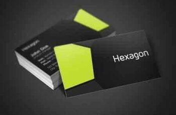 1807202 Hexagon Business Card 2581671 7