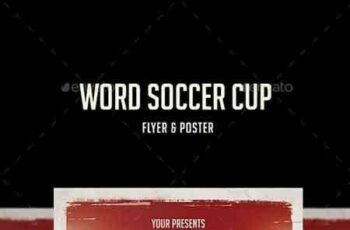 1807210 Word Soccer Cup Flyer 22119405 8