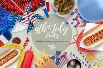 1807212 4th of July Styling Props 2661781 3