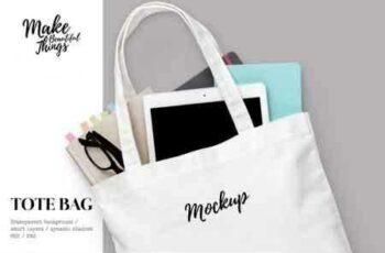 1807215 Isolated tote bag mockup #7012 2676748 3