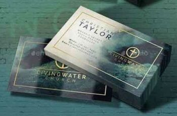 1807228 Modern Watercolor Business Card Template 22131303 6