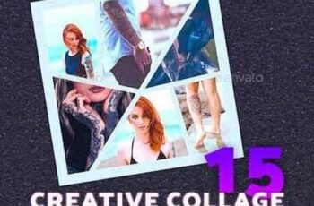 1807242 Creative Collage Photoshop Templates 21195341