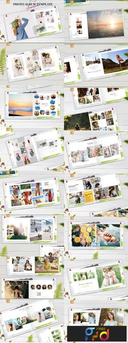 1807243 12x12 Photo Album Template Aurora 2577692 1