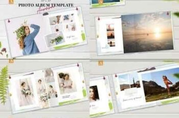 1807243 12x12 Photo Album Template Aurora 2577692 7