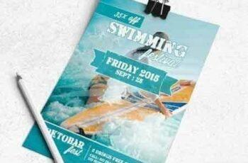 1807260 Swiming Festival Flyer Template 1680258 3