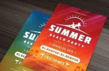 1807261 Summer beach party flyer template 1452408 7