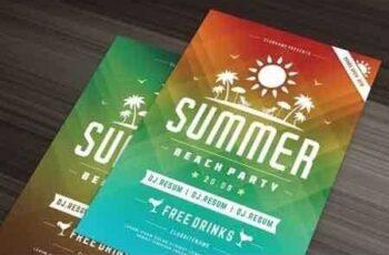 1807262 Summer beach party flyer template 1452407 3