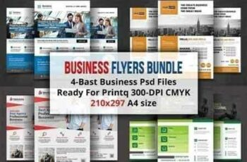 1807291 Business Flyers Bundle 1521058 6