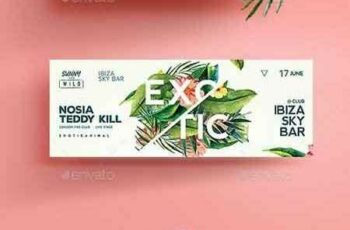1807294 Exotic Summer Flyer 22108177 9