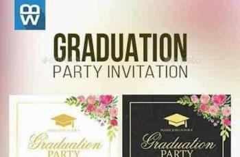 1807295 Floral Graduation Party Invitation 16185389 13