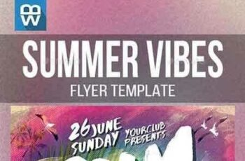 1808007 Summer Vibes Flyer Template 16498200 4