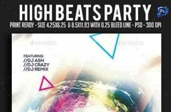 1808011 High Beats Party Flyer 22025124 7