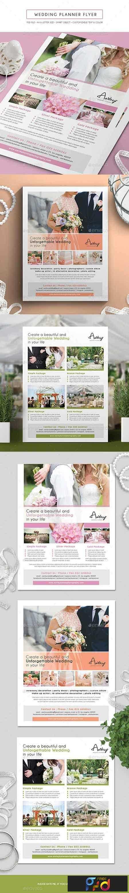 1808024 wedding planner flyer 15882193 freepsdvn