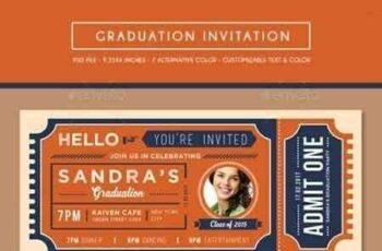 1808028 Graduation Invitation Ticket 15724104 7