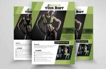 1808034 Fitness Gym PSD Flyer Templates 1570208 2