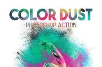 1808047 Color Dust Photoshop Action 18711236 7