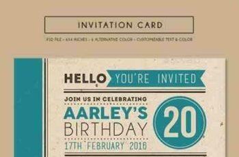 1808048 Colorfull Invitation Card 14926029 7