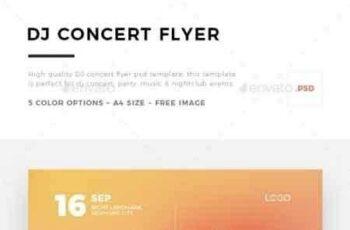 1808050 DJ Concert Flyer 20658862 6