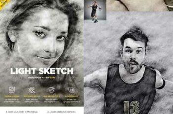 1808056 Light Sketch CS4+ Photoshop Action 22100434 8