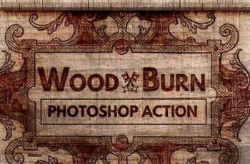 1808060 Wood Burn Effect Photoshop Action 22089411 3