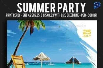 1808074 Summer Party Flyer 22194067 5