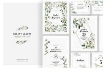 1808078 Forest Leaves Wedding Invitations 2728717 7
