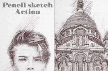1808081 Pencil Sketch Photoshop Action 22055959 6