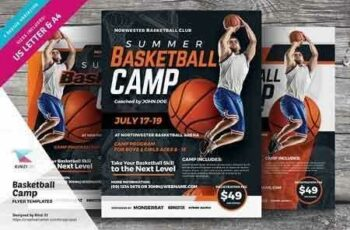 1808092 Basketball Camp Flyer Templates 2708445 3