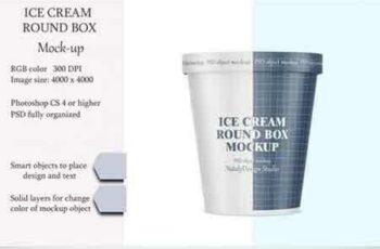1808100 Ice cream round box mockup 3452891 7