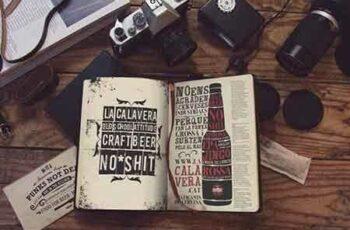 1808104 Notebook Vintage Mockup 3452569 3