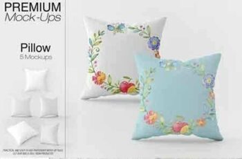 1808108 Square Pillow Mockup Pack 3451120 6