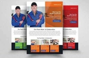 1808120 Handyman & Plumber Services Flyer 1549083 5