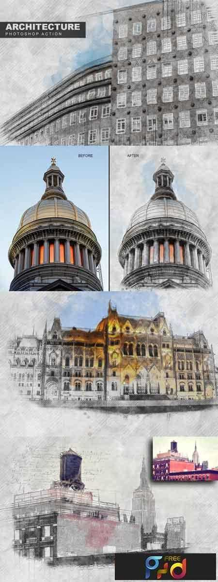 1808125 Architecture Photoshop Action 3466472 1