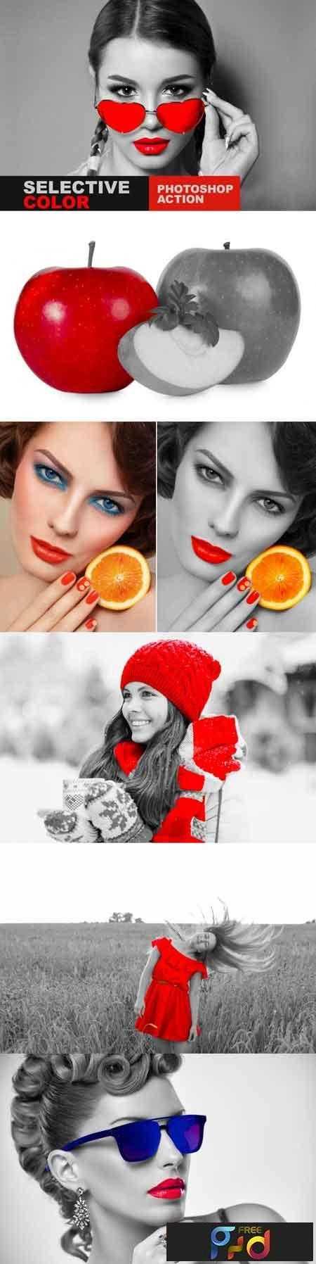 1808131 Selective Color Photoshop Action 3466289 1