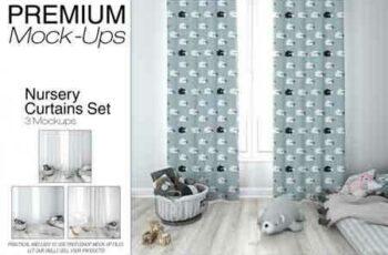 1808140 Kids Room - Curtains Mockup Pack 3468694 6