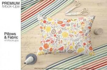 1808154 Two Types of Pillows & Fabric Set 3451677 2