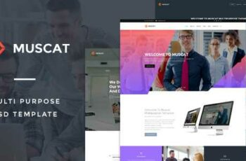 1808168 Muscat Multi-Color Multipurpose PSD Template 14512336 7