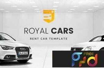 1808217 Royal Cars - Rent Car PSD Template 20738660 4