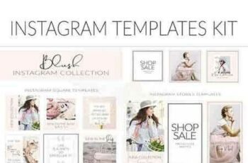 1808227 Blush Feminine Instagram Templates 2664404 6
