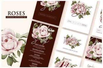 1808243 Roses - Wedding Invitation Ac.23 2752475 5