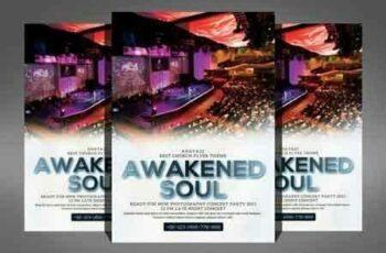 1808275 Awakened Soul Church Flyer 3469418 5