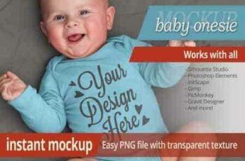 1808285 Instant photorealistic baby onesie mockup 3470106 7