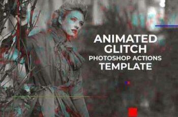 1809009 Gif Glitch Animated Photoshop Action 3470952 6