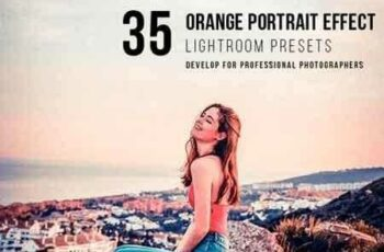 1809013 35 orange portrait effect presets 22141416 3
