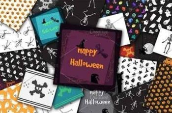 1809032 Vector Halloween Set 385445 5